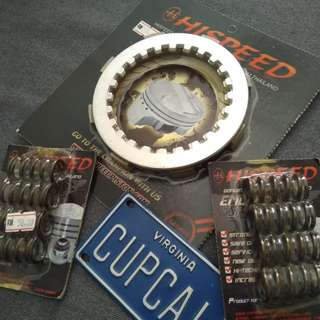 Racing clutch plate &  spring EX5