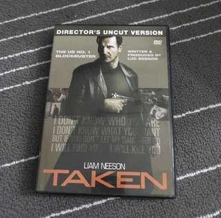 Taken Director's Cut Movie DVD