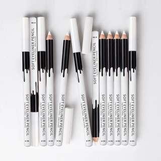 Menow white eyeliner pencil [ Free Mail ]