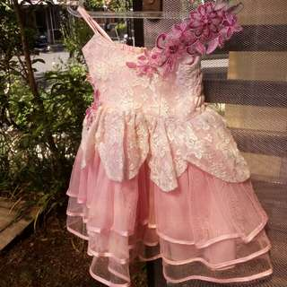 dress pesta anak #imlekhoki