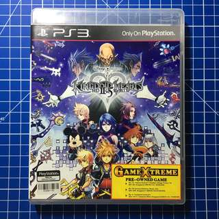 PS3 Kingdom Hearts HD 2.5 HD ReMIX