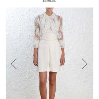 Zimmermann Painted Heart Skirt