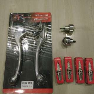 Brake n clutch lever with balancer