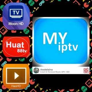 Myiptv Renewal/Subscription