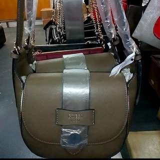 Guess Brown Sling Bag
