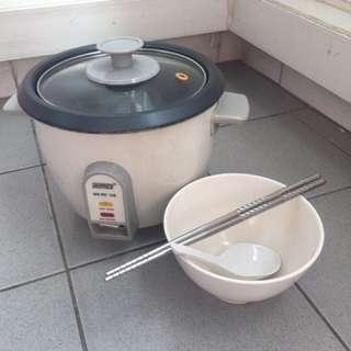 metal rice  / noodle / soup / porridge cooker
