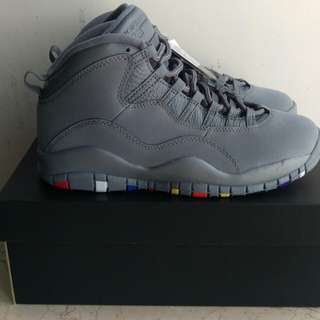 310805022 日版 Nike Air Jordan 10 Retro Cool Grey
