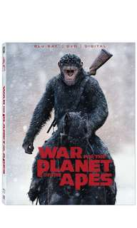 War for the Planet of the Apes - Blu ray