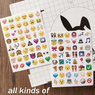 Emoji Collection Diary Deco Stickers