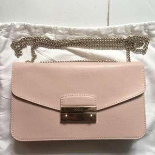 Furla Pink Saffiano Julia Pochette should bag nike supreme chanel Gucci