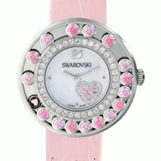 BNIB Authentic Swaroski Crystals Heart Watch