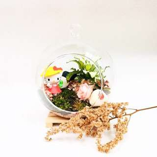 Hello Kitty Terrarium Summer Series