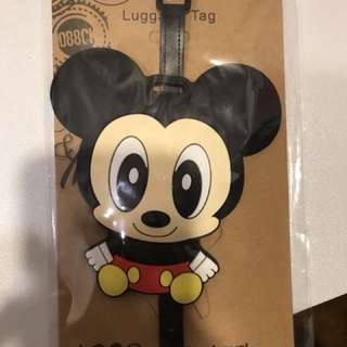 Luggage Tag - Mickey Mouse