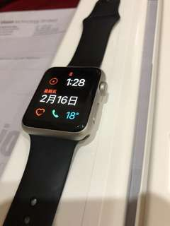 apple watch 1 42mm 銀色