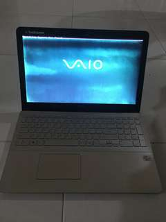"Faulty Sony Vaio 15.6"" touch screen i7-3rd Gen"