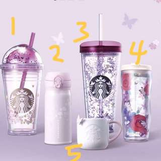 [PO] Starbucks Korea Cherry Blossom Collection 2018