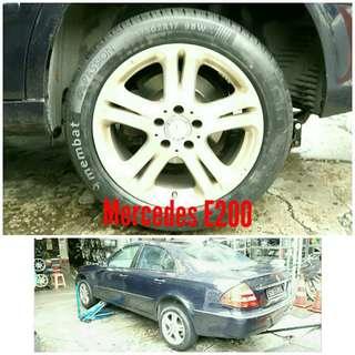 Tyre 225/50 R17 Membat on Mercedes E200 🐕 Super Offer 🙋♂️