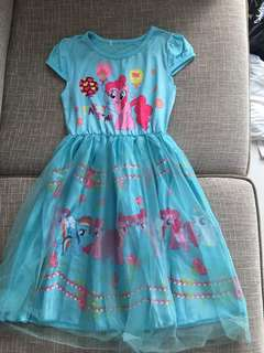 My Little Pony Dress for 6-7 years