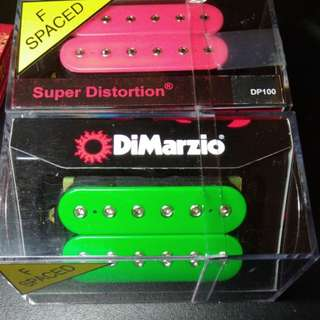 Brand new Dimarzio Super Distortion Pickups.