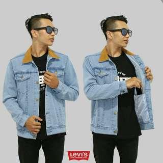 Jaket Jeans Dilan Edition