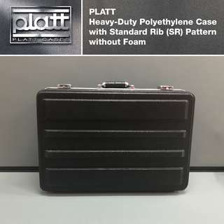 PLATT Heavy-Duty Polyethylene Case with Standard Rib (SR) Pattern without Cubed Foam