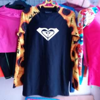 Roxy set rashguard sunflower