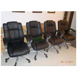 8pcs EXECUTIVE HIGHBACK CHAIRS--KHOMI
