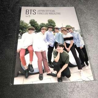 BTS JAPAN FANCLUB MAGAZINE VOL.5
