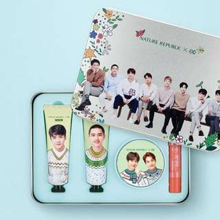 Incoming stock EXO Nature Republic Hand cream Set