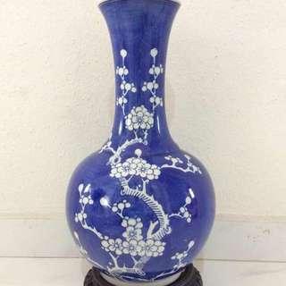 Blue Chinese Porcelain vase