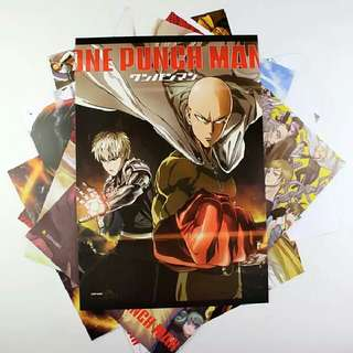ONE PUNCH MAN A3 Poster