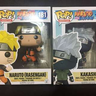 Naruto at Kakashi Funko Pop (SET)