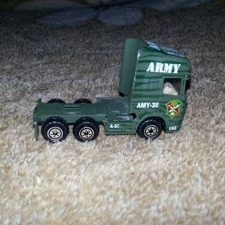 Army Battle Truck Miniature Toy Collectible