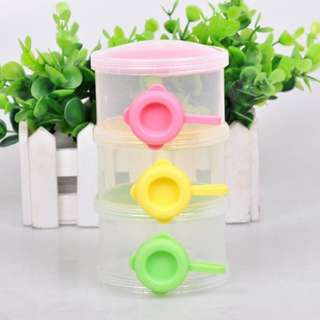 3 Layer Baby Milk Powder Container