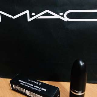 Original MAC Makeup • Retro Matte Lipstick
