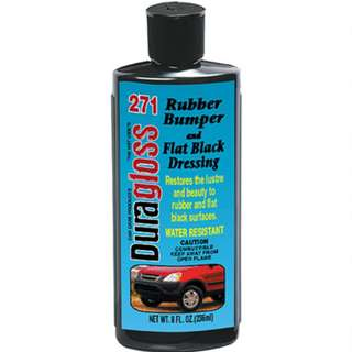 Duragloss #271 Rubber & Flat Black dressing
