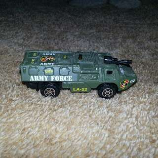 Army Battle Truck Miniature Toy Truck Collectible