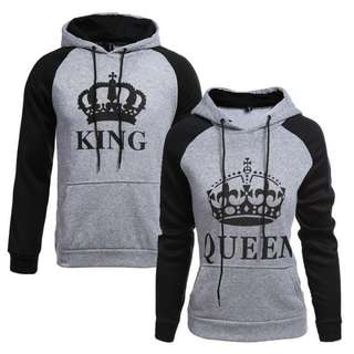 [Pre-Order] Autumn Couple King Queen Hoodies