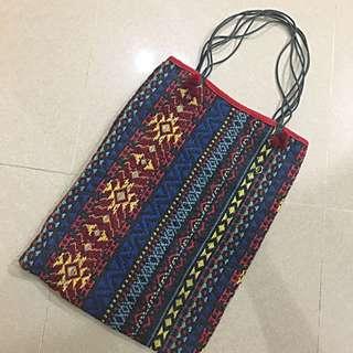 泰國民族針織袋