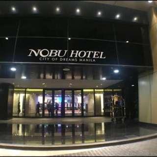 1 night Stay at Nobu Feb 24-25