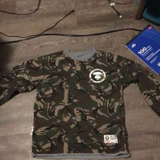 Bape reversible shirt