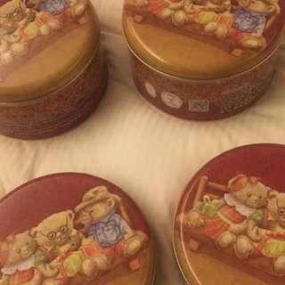 香港代購🇭🇰 小熊餅乾 珍妮曲奇兩盒