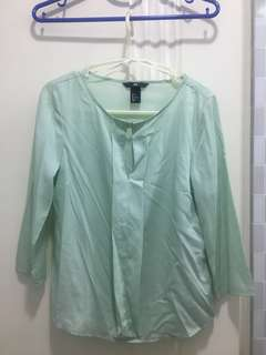 H&M jade top
