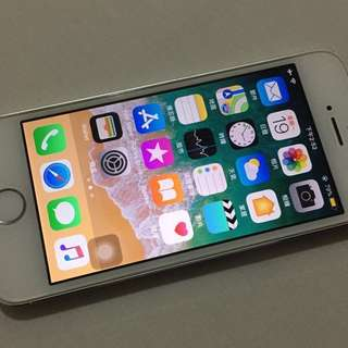 iPhone 5S 16GB Silver 95% up new