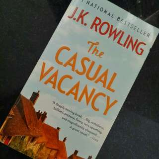 J.K Rowling - The Casual Vacancy