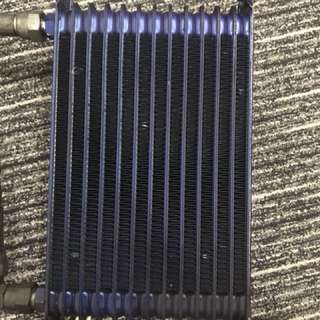 Trust Oil Cooler 12 rows + Free 2x Steel Braided Hoses
