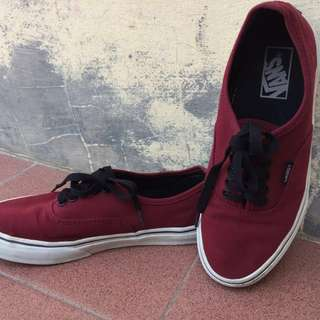 Vans Authentic Maroon