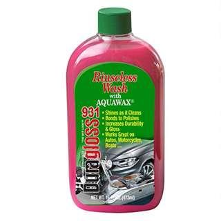 Duragloss #931 No Rinse Wash with Aquawax