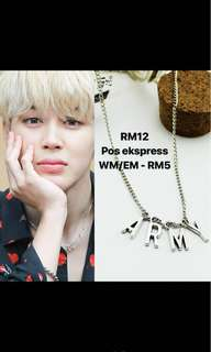 Jimin ARMY necklace