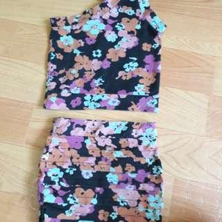 Preloved terno skirt